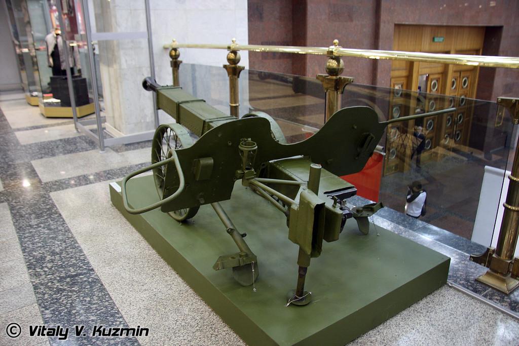 37-мм авиадесантная пушка обр. 1944 г. ЧК-М1 (ChK-1M mod.1944 cannon)
