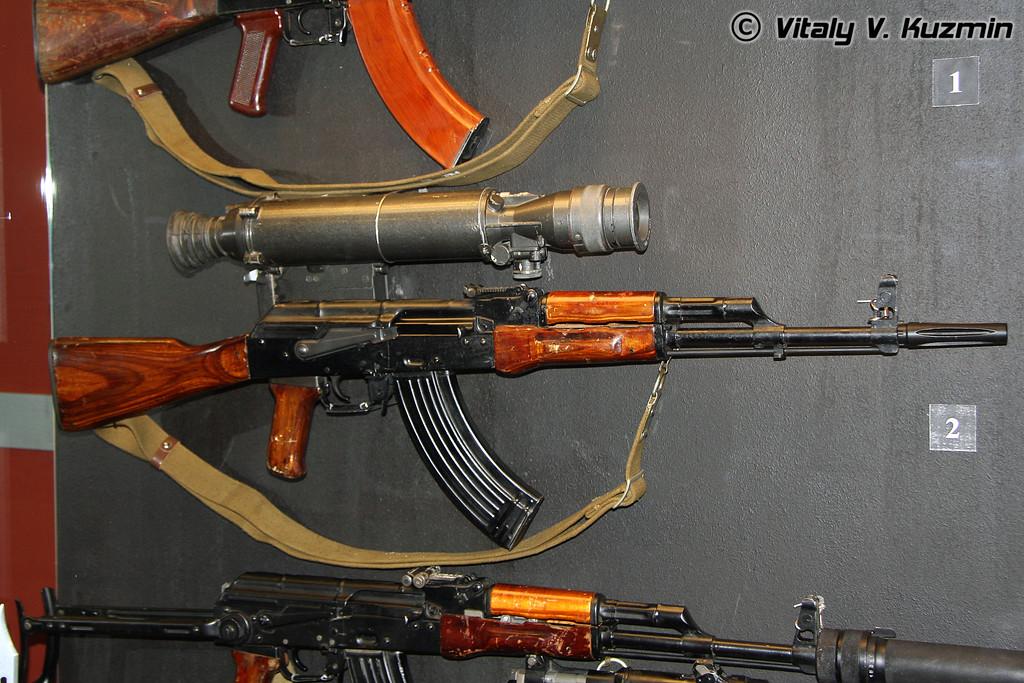 АКМЛ с НПС-3 (AKML rifle with NPS-3 scope)