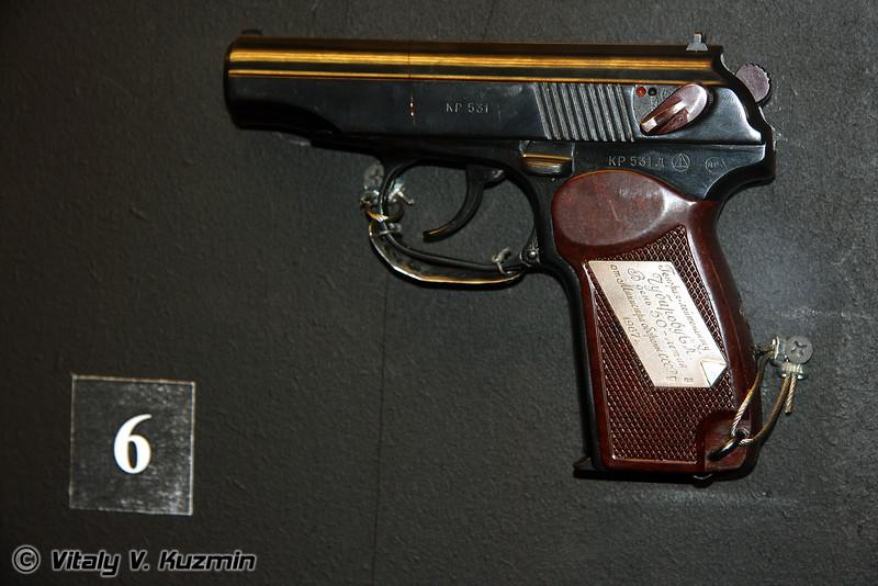ПМ наградной (PM pistol)