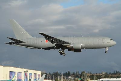 Japan Air Self-Defence Force (JASDF) Boeing KC-46A Pegasus (767-2C) N6018N 611 (msn 66585) PAE (Nick Dean). Image: 952762.