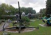 Japanese 75mm Type 88 Mod 1928 anti-aircraft gun, Great Patriotic War Museum, Moscow, 29 August 2015. Used by 91st Infantry Division on Shumsu, Kuril islands.