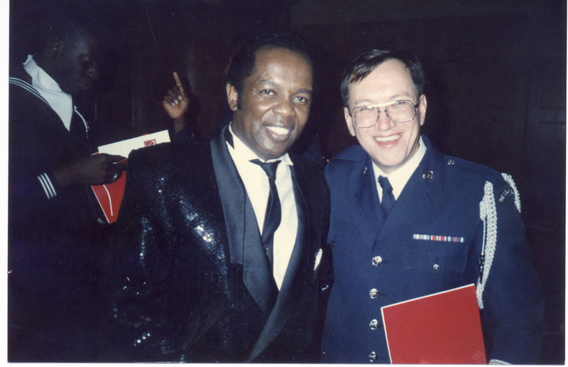 With Lou Rawls