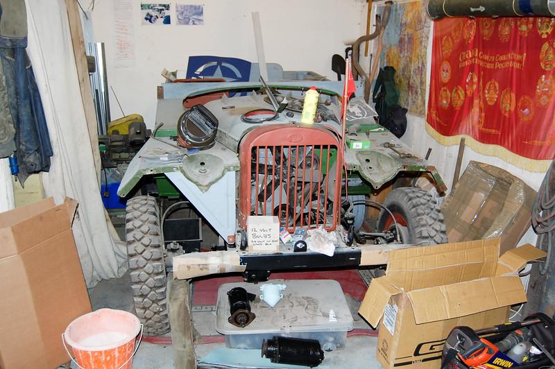 GAZ 67 Jeep