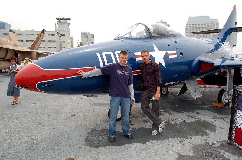Jimmy & Jacob with Panther Jet