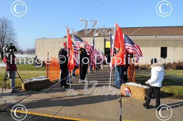 Joliet, IL Echo Company, 4th Reconnaissance Battalion, 4th Marine Division, Marine Forces Reserve homecoming 12-18-11