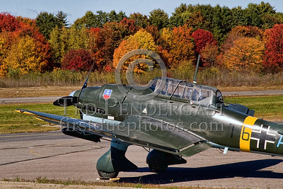 Ju-87 Stuka (replica) at Stow, Mass.
