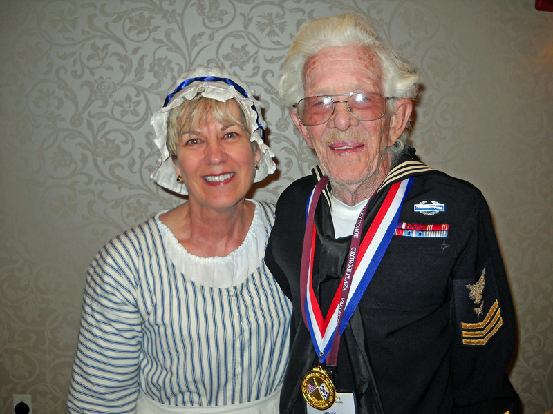 Dr. Loane with Henry Mounts in Uniform