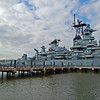 USS New Jersey from Pier