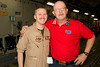 Capt. Andrew Stimpson, a C-17 captain from Fayetteville, GA. What a small world. Qatar.