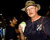 I found a snow cone in the middle of a war!! That is sweat on me!! This was at 9:00 P.M.. The temps had gone down to a comfortable 118 degrees F. from a high of 140 that afternoon! Camp Bucca, Iraq. Sept. 2008. That's pure sweat on me, NOT water.