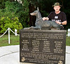 December 16, 2010, U. S. Naval Base, Guam. War Dog Memorial at the U. S. Marine Corps War Dog Cemetery.
