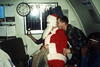 Christmas Eve, 1986. MCAS Iwakuni, Japan. l-r LCpl Jamal Walker (Holding beer), Santa (Me) and Cpl. Dan Pawlack (Standing).