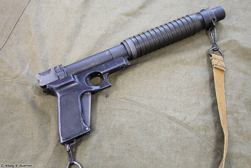 Пистолет Туляк вид справа (Tulyak pistol right view)