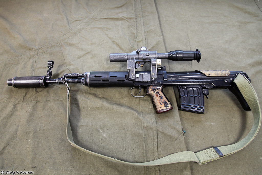 7,62x54 снайперская винтовка СВУ-А (7.62x54 sniper rifle SVU-A)