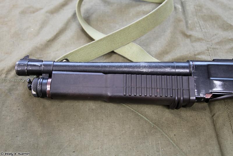 КС-23М детальный вид отдельных частей левой стороны (KS-23M detailed view of the parts from the left side)