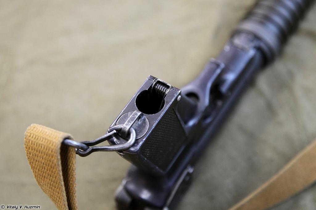 Пистолет Туляк детальный вид отдельных частей левой стороны (Tulyak pistol detailed view of the parts from the left side)