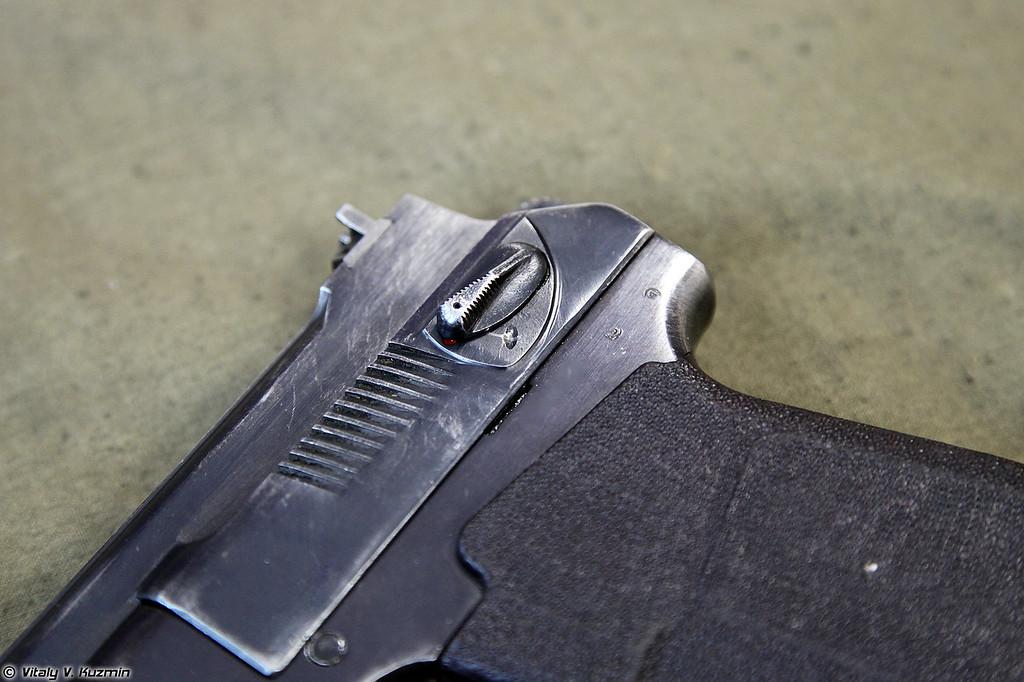 Пистолет самозарядный специальный ПСС (PSS silent pistol)