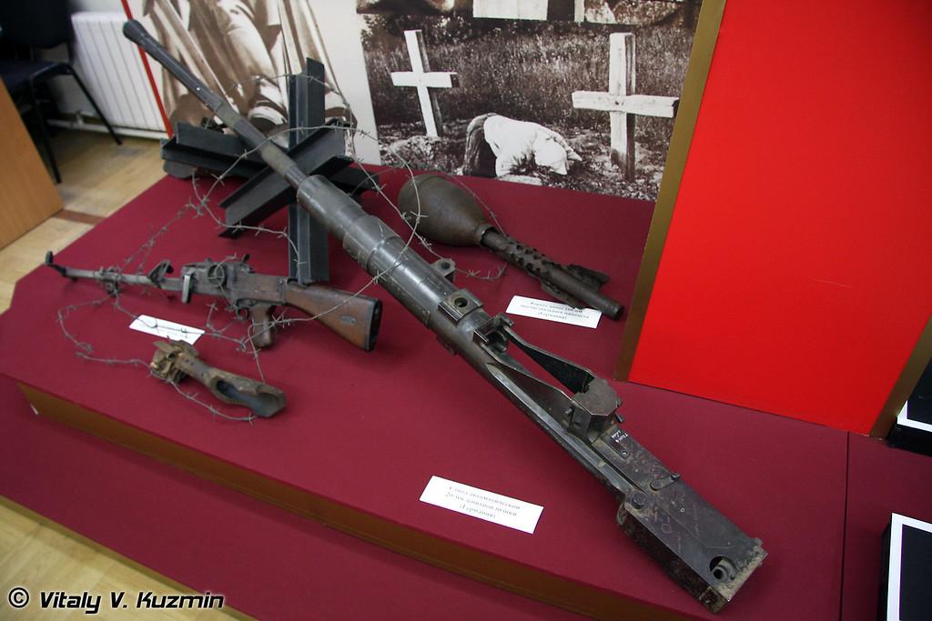 Ствол автоматической 20-мм зенитной пушки (20-mm AA gun barrel)