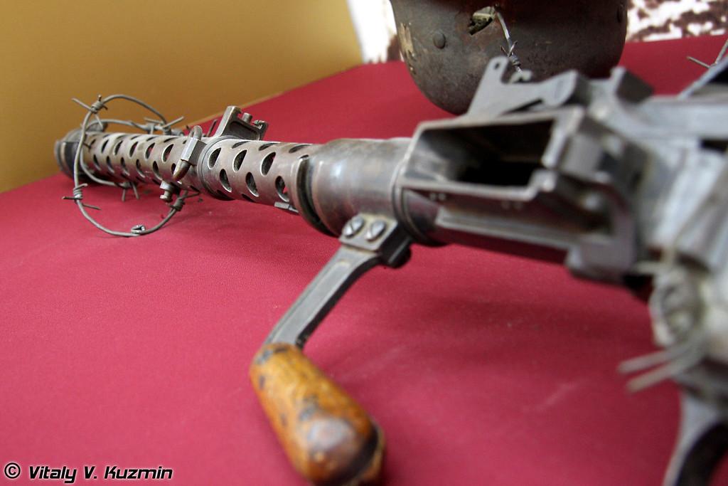 Пулемет MG-13 (MG-13 machinegun)