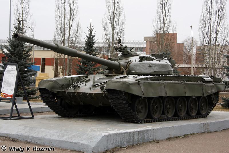 Танк Т-72 (T-72 tank)