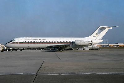 Kuwait Air Force McDonnell Douglas C-9K (DC-9-32CF) KAF 321 (msn 47690) LHR (SPA). Image: 953841.