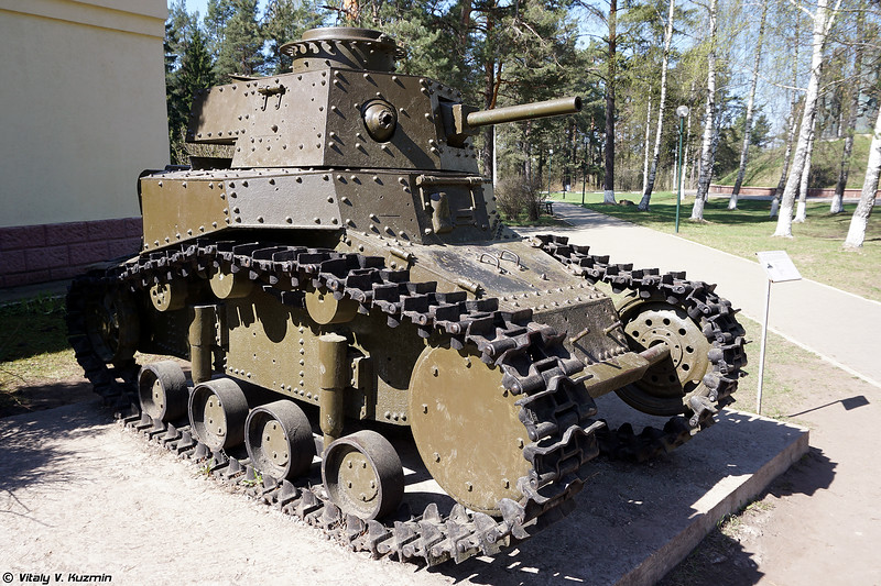 Легкий танк Т-18/МС-1 (T-18/MS-1 light tank)