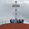 the Hall Family atop the Cross Level