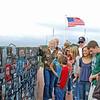 Leon Hall's Family view his New Plaque at Mt. Soledad, La Jolla, CA