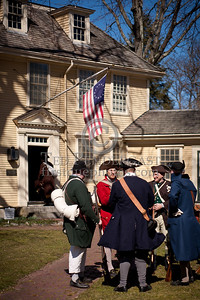 Lexington MA - Rehearsal For Battle Green Reenactment