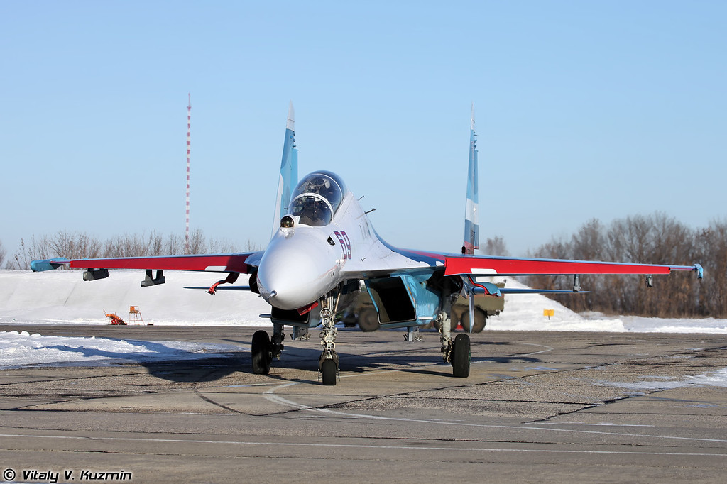 Су-30 регистрация RF-92222, бортовой номер 69 Красный (Su-30 RF-92222, 69 Red)