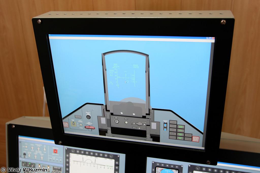 СК РМБП Су-27СМ/СМ3 специализированный комплекс рабочих мест для отработки процедур боевого применения самолетов Су-27СМ и Су-27СМ3 (Su-27SM and Su-27SM3 combat application training simulator SK RMBP Su-27SM/SM3)