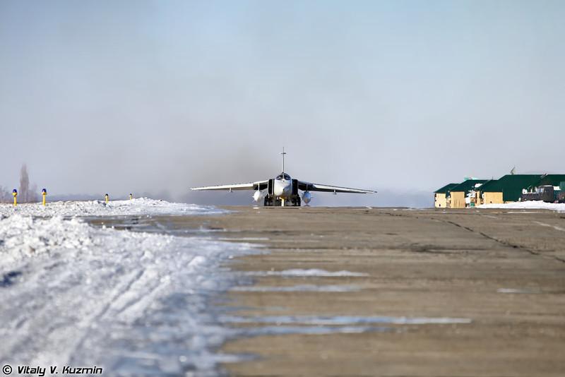 Су-24 регистрация RF-92249, бортовой номер 47 Красный (Su-24 RF-92249, 47 Red)