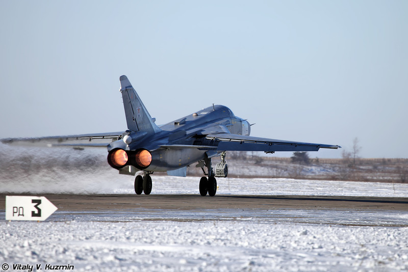 Су-24 регистрация RF-92246, бортовой номер 41 Красный (Su-24 RF-92246, 41 Red)