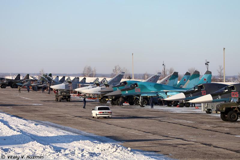 Авиабаза Липецк (Lipetsk airbase)