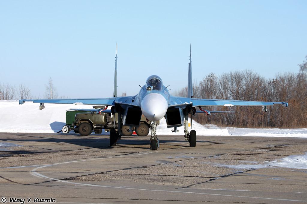 Су-27СМ регистрация RF-92212, бортовой номер 02 Красный (Su-27SM RF-92212, 02 Red)