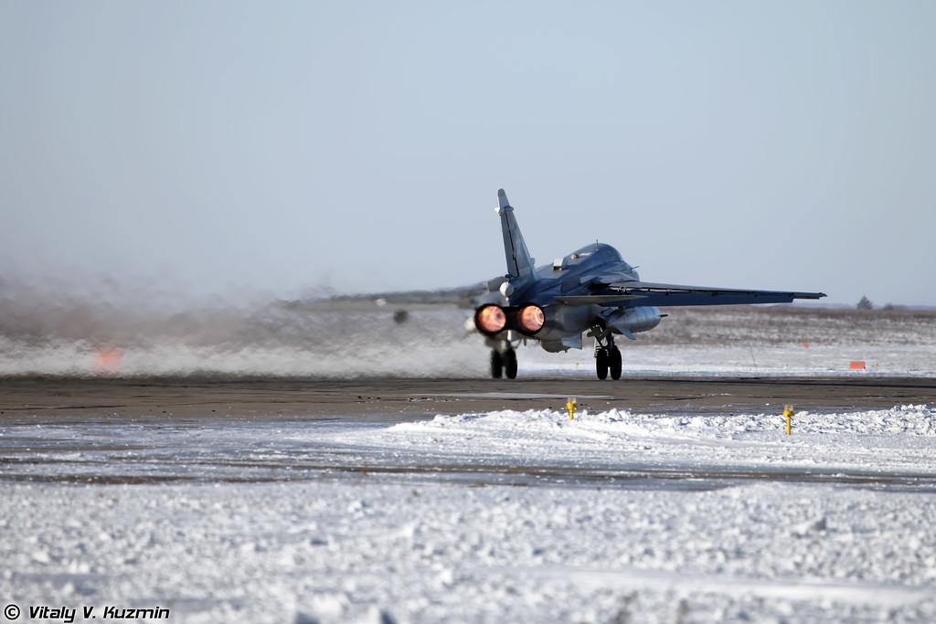 Су-24 регистрация RF-92250, бортовой номер 52 Красный (SU-24 RF-92250, 52 Red)