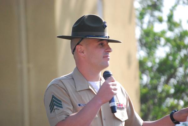 Logan's Marine Corps Graduation