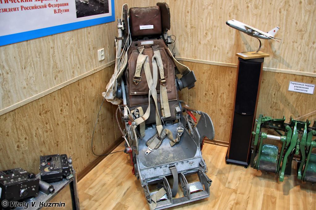 Кресло катапультное (Ejectable seat)