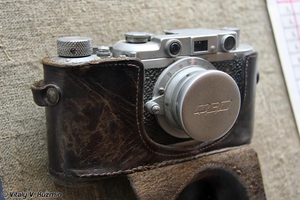 Фотоаппарат ФЭД (FED camera)