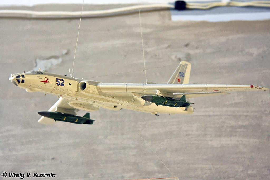 Макет Ту-16К-26 (Tu-16K-26 model)