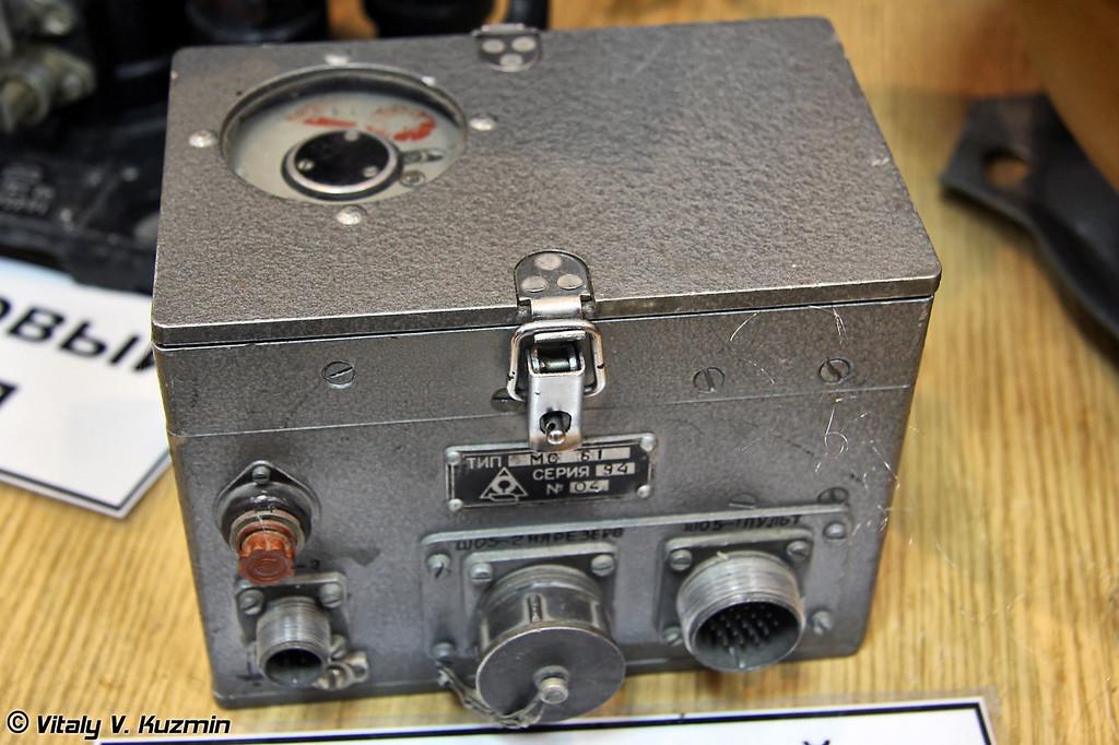 Самолетный магнитофон МС-61 (Aircraft recorder MS-61)