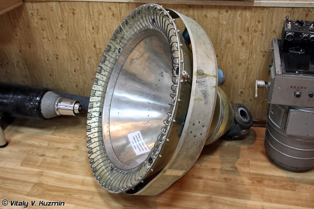 Конус системы дозаправки самолета топливом в воздухе (Refuelling receptacle)