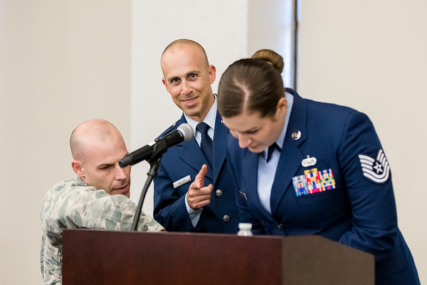 Lt Col Catchings Promotion Ceremony (20Sep2018)