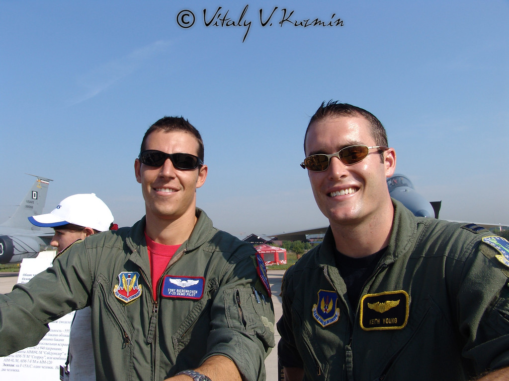 US Air Force servicemen