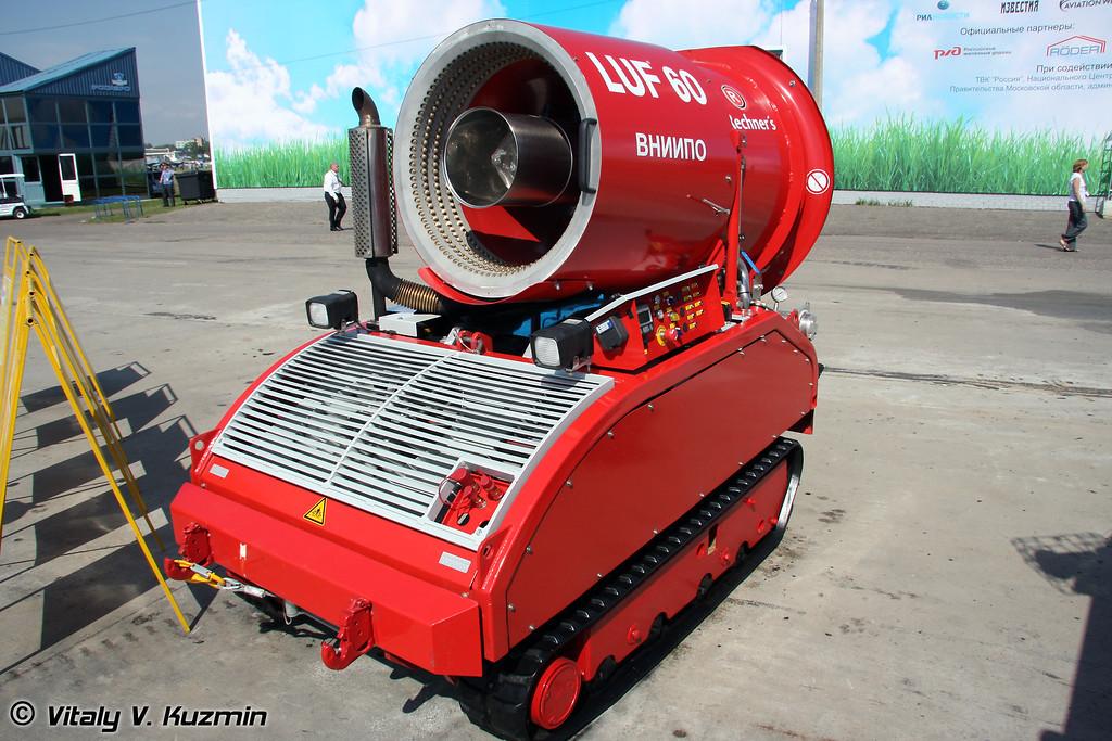 Дистанционно-управляемая мобильная установка пожаротушения LUF-60 (Unmanned firefighting vehicle LUF-60)