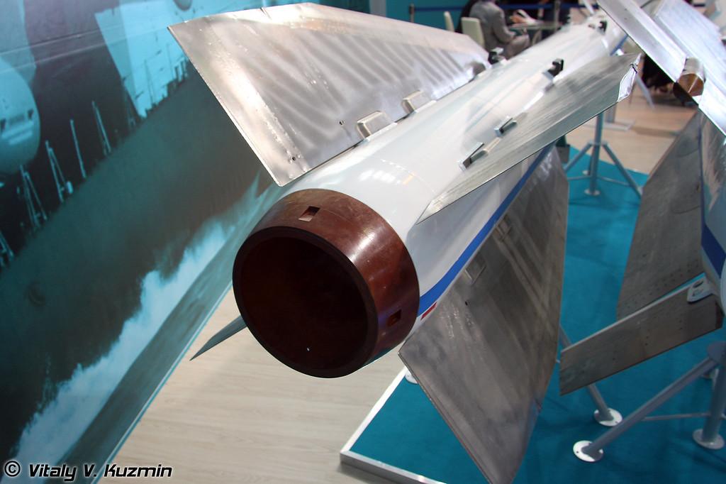 Управляемая авиационная ракета класса воздух-воздух средней дальности Р-27ЭП  (R-27EP unified medium-range air-to-air missile with passive radar homing heads)