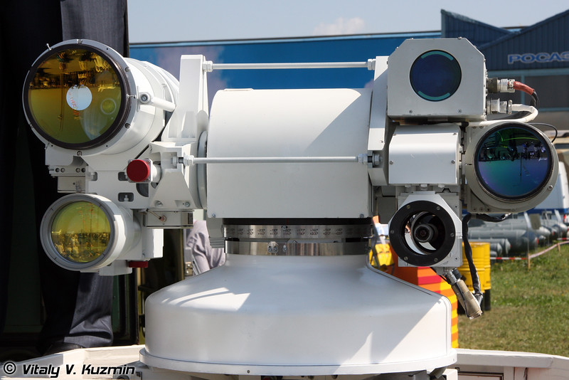 Квантово-оптическая система Сажень-ТА (Laser-optical system Sazhen-TA)