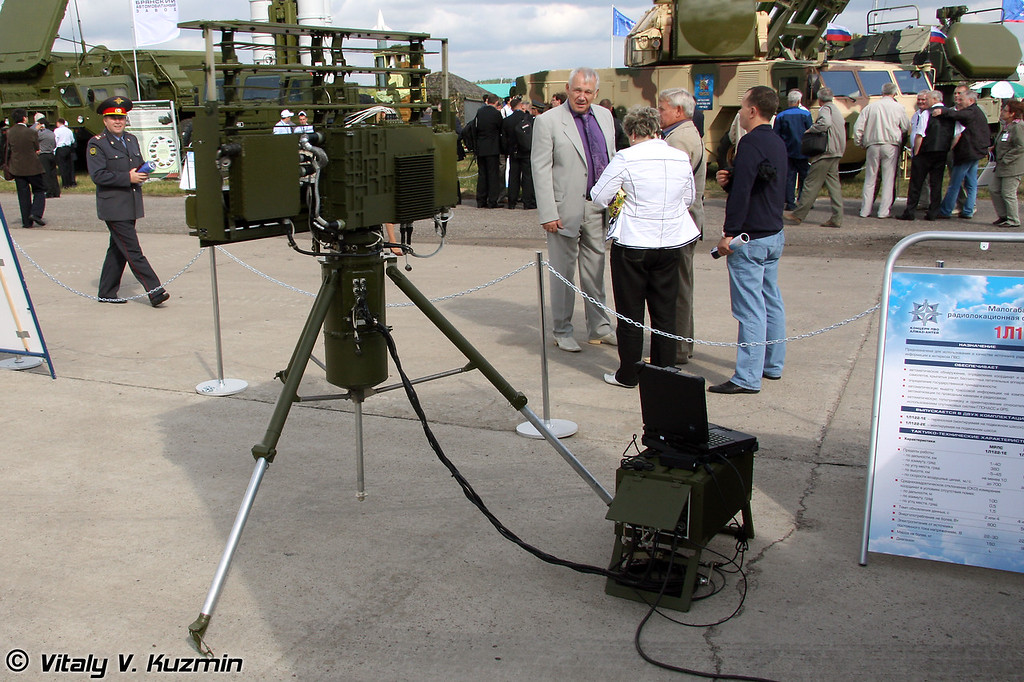 Малогабаритная РЛС 1Л122Е (Portable radar 1L122E)