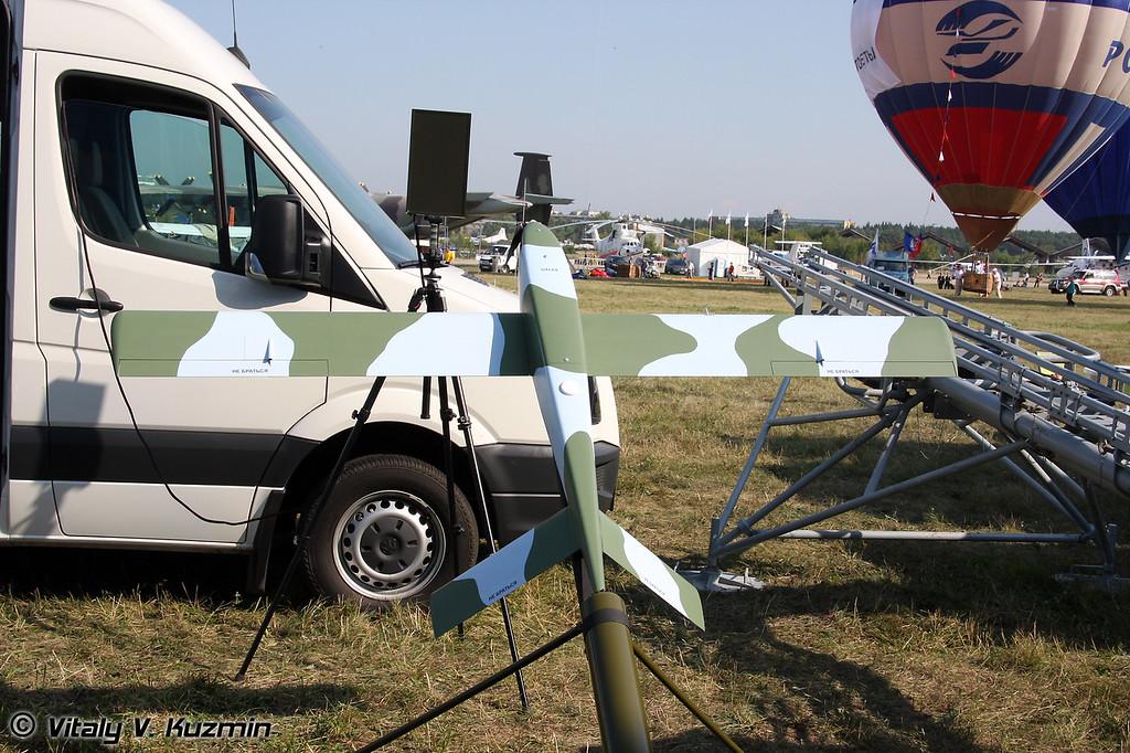 И самый маленький из вариантов комплекса Типчак (And the smallest Tipchak UAV)