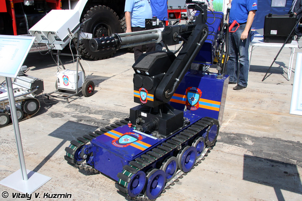 Робототехнический комплекс MF-4